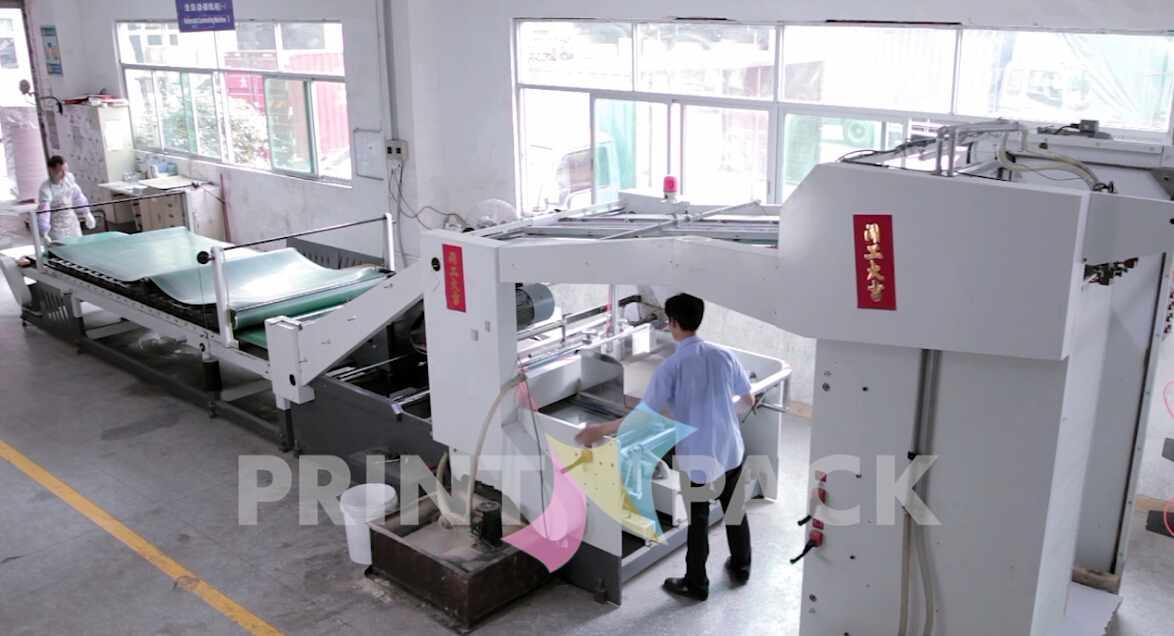 Paper Mounting Machine