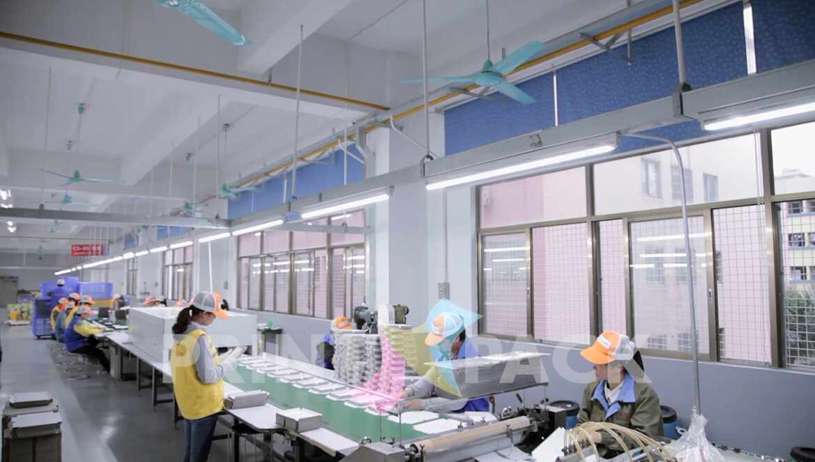 Printn-pack's Manual Production Lines