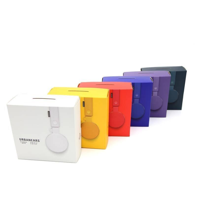 Folded Paper Headphone Packaging Design
