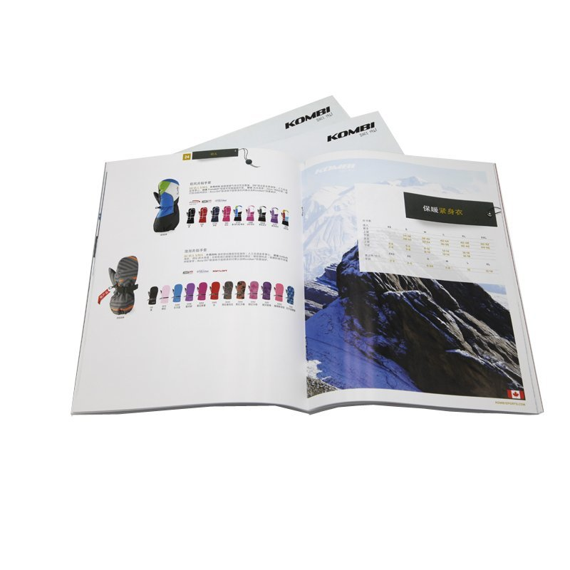 Custom Color Advertising Catalogue Brochure Printing Packaging
