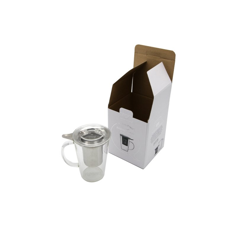 Printed Cardboard Paper Box For Tea Bottle