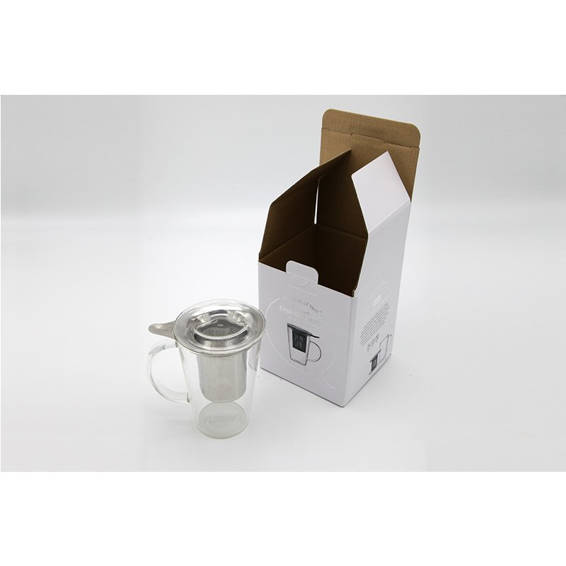 Clear Top Gift Paper Boxes for Wine Glass