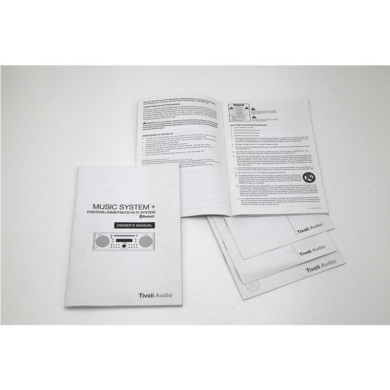 Product Paper Manual Leaflet for Electronic User